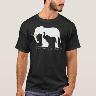 Sparen de (zwarte) Olifanten T Shirt