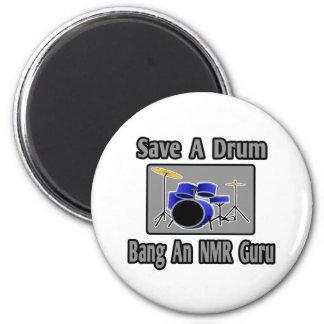 Sparen een Klap van de Trommel… NMR Guru Koelkast Magneten