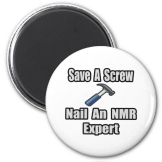 Sparen een Schroef, nagel een NMR Deskundige Koelkast Magneetjes