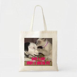 sparen een van de het levenskat/hond bolsa van het draagtas