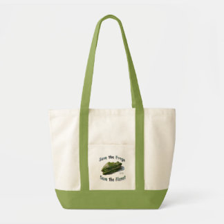 Sparen Groene Treefrogs Draagtas