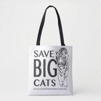 Sparen Grote Katten Draagtas