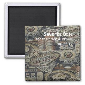 Sparen het Huwelijk van de Datum in de Magneet van