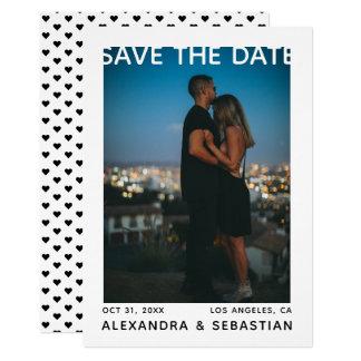 Sparen het Huwelijk van het Hart van de Datum Kaart