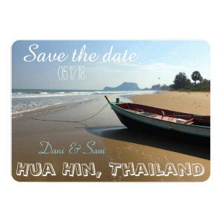 Sparen het Huwelijk van het Strand van de Datum Kaart
