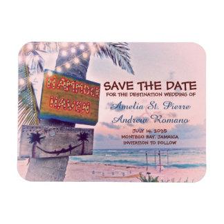 Sparen het Huwelijk van het Strand van het Koord Magneet