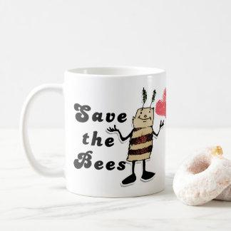 Sparen het Karakter van Bijen Koffiemok