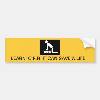 Sparen het Leven Bumpersticker