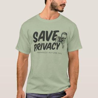 Sparen het Overhemd van de Privacy T Shirt