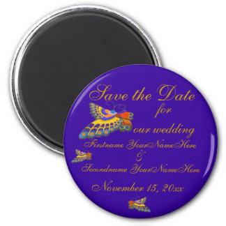 Sparen het Paarse Goud van het Huwelijk van de Ronde Magneet 5,7 Cm