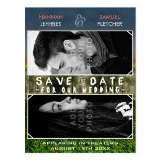 Sparen het Thema van het Poster van de Film van de Briefkaart