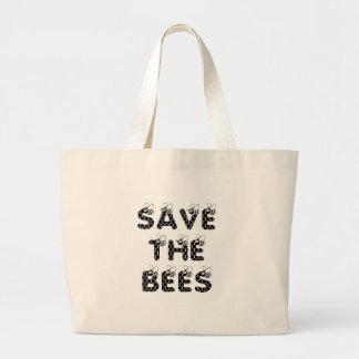 Sparen het Wit van Bijen Grote Draagtas