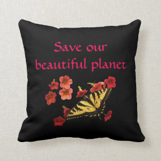 Sparen Ons Hoofdkussen van de Bloemen van de Sierkussen