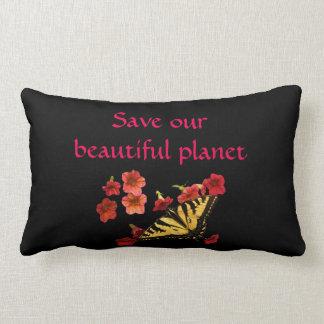 Sparen Ons Mooi Hoofdkussen van de Bloemen van de Lumbar Kussen