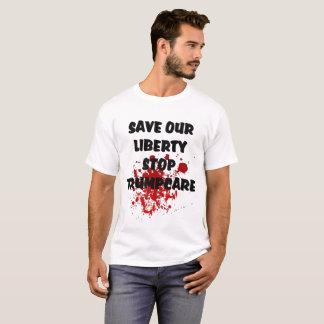 Sparen Onze T-shirt van Trumpcare van het Einde