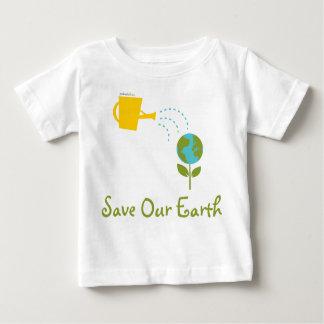 Sparen Onze T - shirts van het Baby van de Aarde