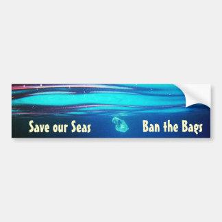 Sparen onze Zeeen - verbied de Sticker van de Bump