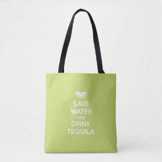 Sparen Water en Drank Tequila Draagtas