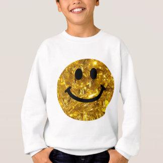 Sparkly Gouden Bling Smiley Trui