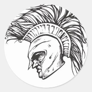Spartans Ronde Sticker