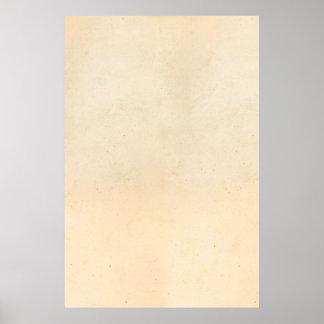 Spatie van de Sjabloon van het Perkament van het Poster