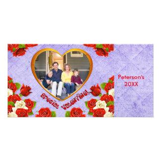 Speciaal Valentijn, de Kaart van de Foto van het Persoonlijke Fotokaart