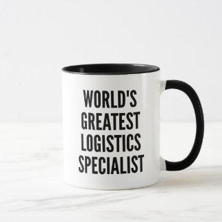 Specialist van de Logistiek van werelden de Mok