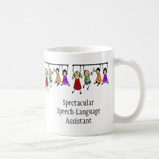 Spectaculair toespraak-Taal Hulp leuk kind Koffiemok