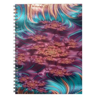 spectroscopische prikkelbaarheidfractal notitieboek