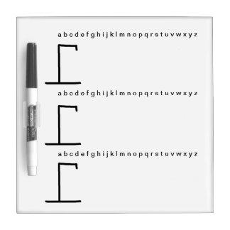 Speel hangen droog manspel wissen raad whiteboard