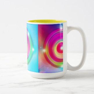 Speel! Tweekleurige Koffiemok