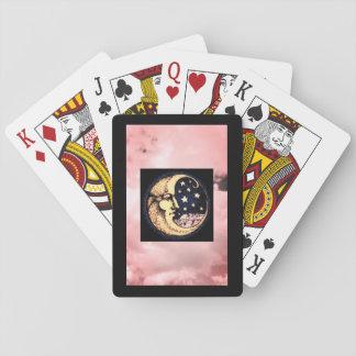 Speelkaarten, de Standaardgezichten van de Index Speelkaarten