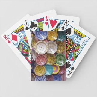 Speelkaarten: Het Bord Souk van Marokko Pak Kaarten