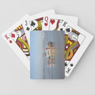 Speelkaarten met Kleurrijke Boot (de Veerboot van