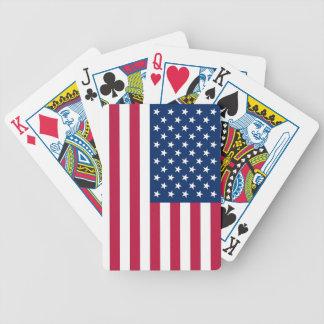 Speelkaarten met Vlag van de V.S. Poker Kaarten