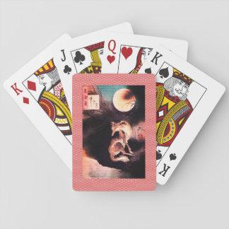 Speelkaarten, Standaard de gezichten CHINESE WOLF Speelkaarten