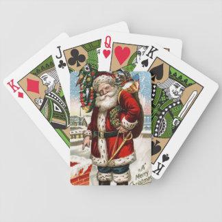 Speelkaarten van de Fiets van de vintage Vakantie  Poker Kaarten