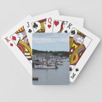 Speelkaarten van de Haven van Boothbay van de