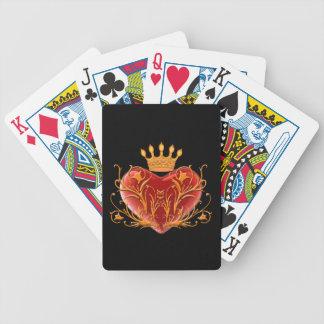 Speelkaarten van het Hart van de kroon de Pak Kaarten
