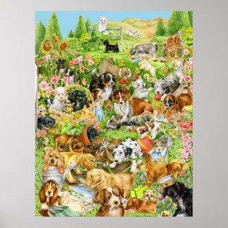 Speels Puppy Poster
