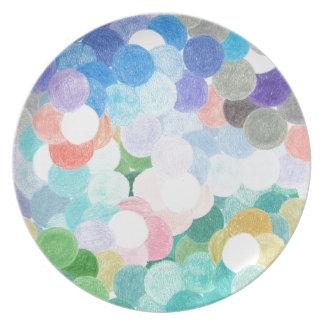 Speels schilderachtig melamine+bord