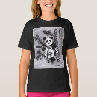Speelse Panda T Shirt