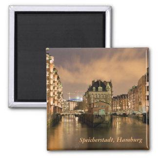 Speicherstadt, Hamburg Magneet
