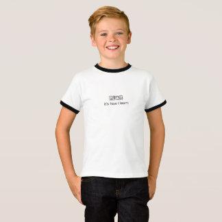Spel: het is hoe ik leer t shirt