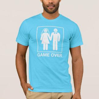 Spel over het Overhemd van de Bruidegom - Turkoois T Shirt