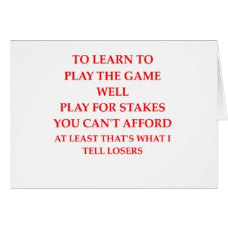 spel speler briefkaarten 0
