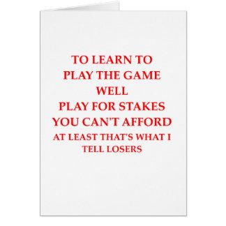 spel speler wenskaart