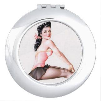Speld op de Spiegel van de Ballerina Make-up Spiegels