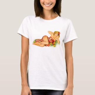 Speld op Meisje T Shirt