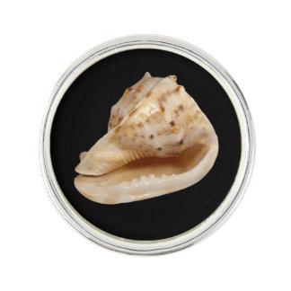 Speld van de Revers van Shell van de kroonslak de Reverspeld
